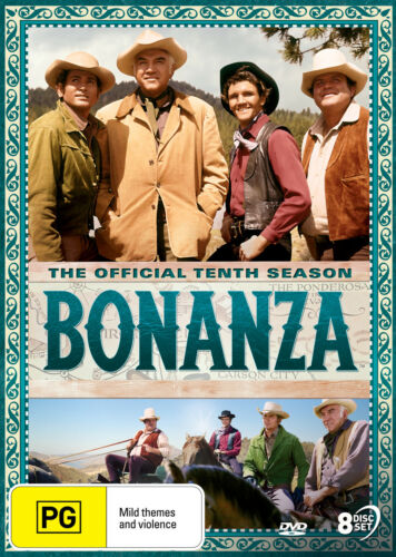 Bonanza - Official Season 10 - Complete Tenth Series DVD (New/Sealed)