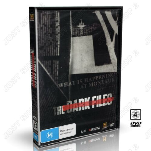 The Dark Files DVD : Documentary / Government Conspiracies : Brand New