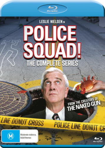 Police Squad! - Complete Series Blu-Ray (New/Sealed) Region A, B, C PRE ORDER