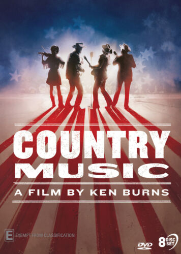 Country Music - A Film by Ken Burns DVD (New/Sealed)  IN STOCK