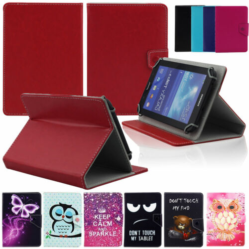 """AU For Samsung Galaxy Tab A E S2 3 4 8"""" -8.0 Tablet Universal Leather Cover Case"""
