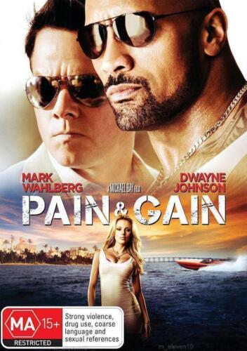 Pain And Gain : NEW DVD