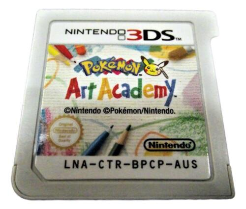 Pokemon Art Academy Nintendo 3DS 2DS (Cartridge Only)