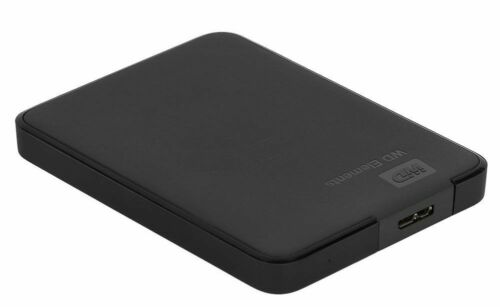 1TB Usb-Iii Western Digital WD External Hard Drive USB3.0 Black