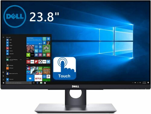 """Dell P2418HT 24"""" Touch Screen Monitor FHD 1920X1080 IPS 6MS 16:9 HDMI DP VGA LED"""
