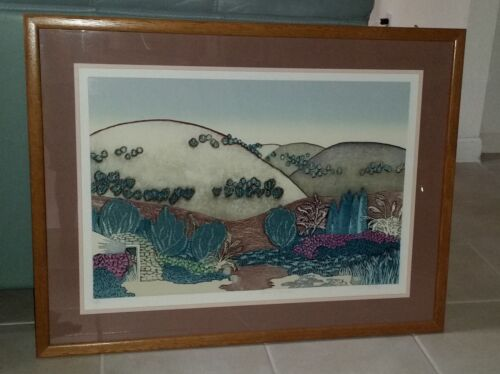 Southwestern Art by Elaine Seltin Framed and Numbered Lithograph