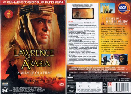Lawrence of Arabia - Collector's Edition - Peter O'Toole, David Lean - 2 DVD Set