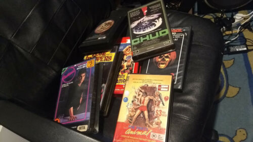 BETA BETAMAX CLEAROUT FROM $3 - ROADSHOW VIDEO CLASSICS PALACE CIC FOX BULK SHIP