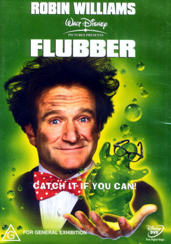 Flubber - Robin Williams in Disney Production - New & Sealed DVD