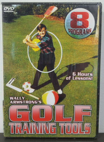 Wally Armstrong's Golf Training Tools (DVD, 2003)