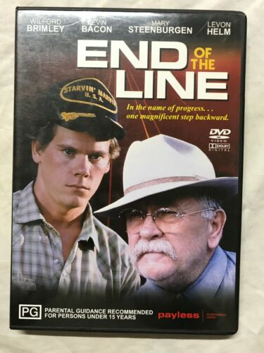 DVD Movie Film R4 End of The Line Kevin Bacon