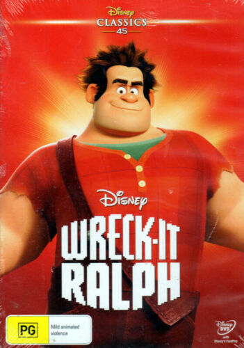 Wreck It Ralph - Disney Classic with voice of John C. Reilly - New & Sealed DVD