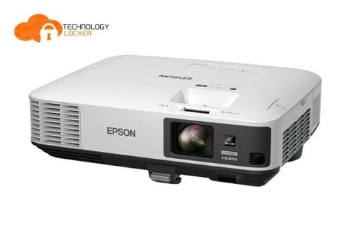 Epson EB-2165W Lamp Hours 5000 WXGA 1871 hrs used Projector w/ remote HDMI