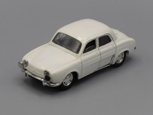 Voiture Renault Dauphine blanche - Solido