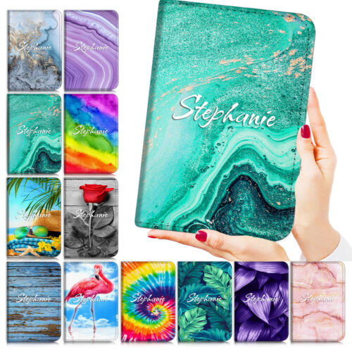 Personalised Name Flip Case Cover for iPad 5 6 7 8 Mini Air Pro 9.7 10.5