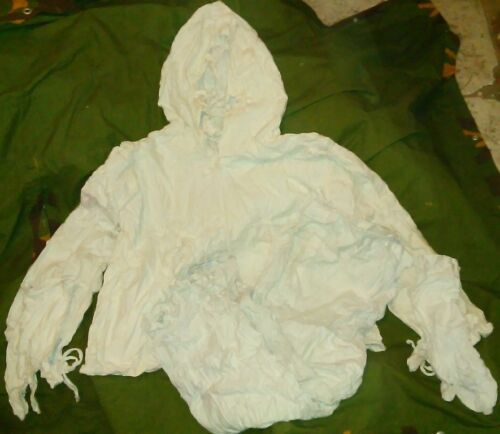 SERBIA MILITA CAMO SNIPER SUIT WINTERS WHITE MOZ GOOD FOR PAINTBALL AIRSOFTOther Militaria - 135