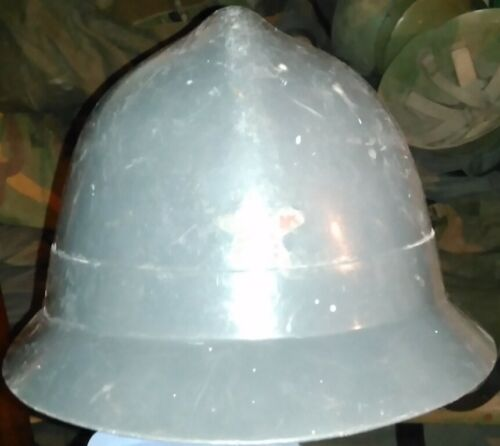 YUGOSLAVIA SERBIA PLAM DOMZALE FIRE HELMET JUS Z.B 88 WITH RED STAR Other Militaria - 135