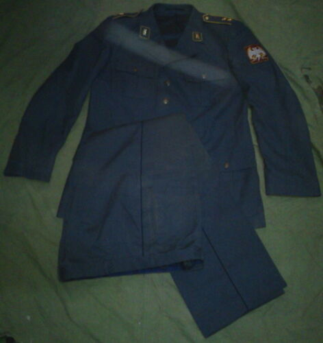 SERBIA YUGOSLAVIA MILITARY AIR FORCES OFFICERS UNIFORM JACKET AND PANTS SIZE 44Other Militaria - 135