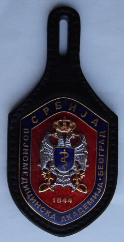 SERBIA MILITARY MEDICAL ACADEMY BREAST BADGEOther Militaria - 135