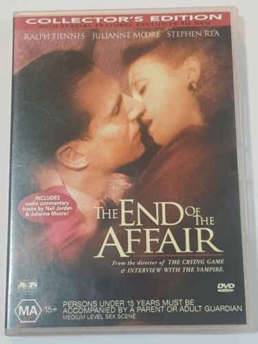 The End Of The Affair (DVD, 2000)Region 4, Like new. Ralph Fiennes.