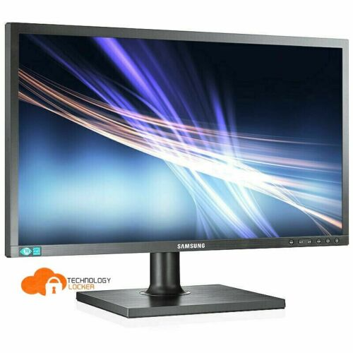 """Samsung S22C450BW 22"""" LED Monitor w/stand + VGA or DVI Cable"""
