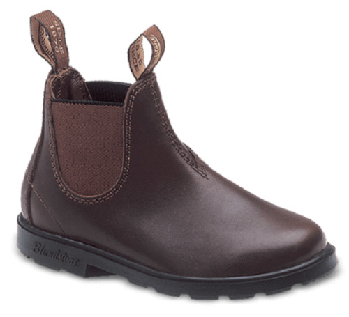 Kids BLUNDSTONE Boots 630 Brown Leather Work  Boots Childrens Sizes