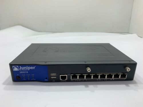 Juniper SRX210HE Firewall Router