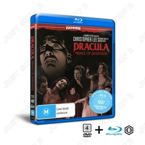 Dracula Prince Of Darkness : Movie / Film : Christopher Lee : New Blu-ray & DVD