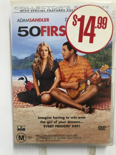 50 FIRST DATES - Comedy 420 Humor DVD Movie Film R4