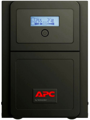 APC Easy UPS Tower SMV 1000VA/700W LCD ICE C13 6 Outlets UPS 230V SMV1000CAI