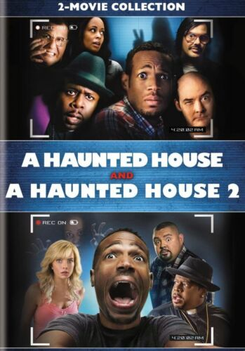 A Haunted House + A Haunted House 2 Two (Marlon Wayans) New DVD