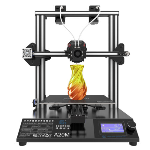 Geeetech 3D Printer A20M 2 in 1 out Extruder Mix Color Break-resuming from USA