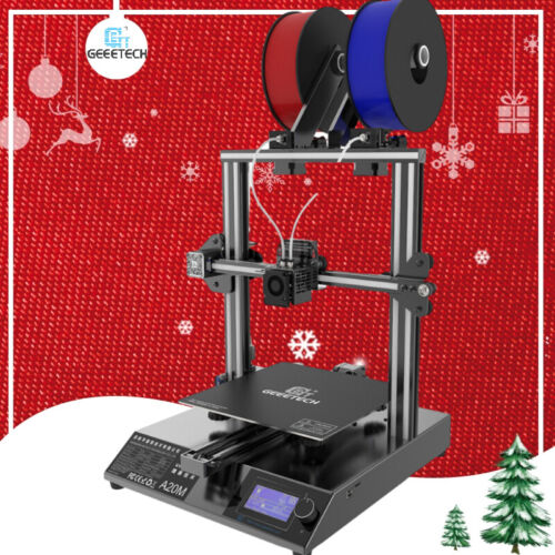 Geeetech large 3D Printer  2in1 out Mix Color with Filament Sensor255*255*255mm