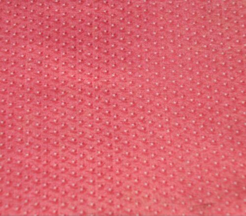 "PRETTY 1880-1910 DOUBLE PINK EARLY ANTIQUE VINTAGE COTTON FABRIC - 24.5"" WIDE"