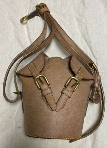 Leather Private Purchase Carrier for M1910 CanteenReproductions - 156388