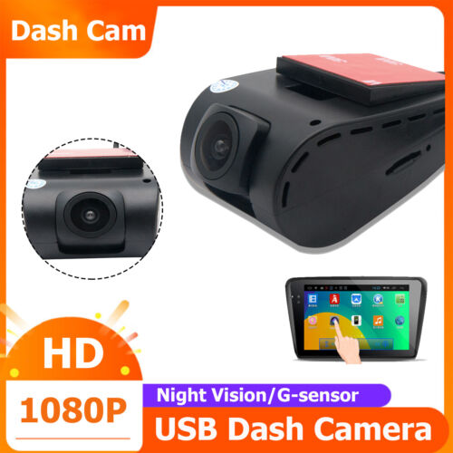 1080P FHD In Car DVR Camera Dash Cam G-sensor USB Mini Driving Video Recorder