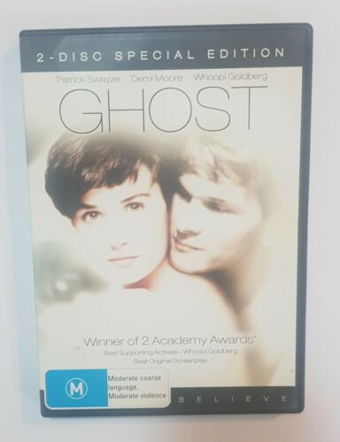 Ghost 2 - Disc special edition. (DVD, 1990) Region 4, like new.