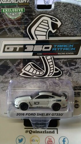 Greenlight Exclusive GT 350 Track Attack 2016 Ford Shelby GT350 (NG111)