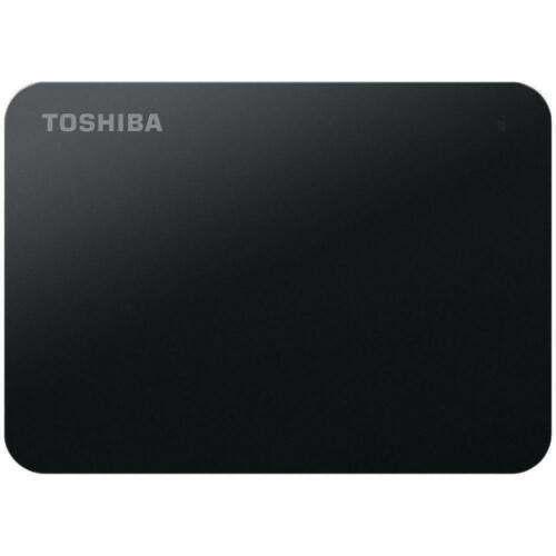 "Toshiba 1TB Canvio Portable External Hard Disk Drive 2.5"" Black Laptop PC MAC"