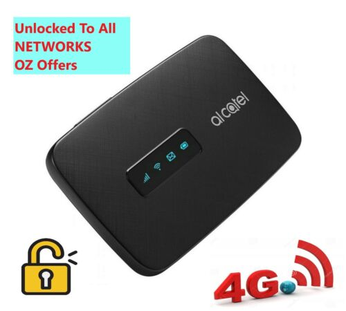 BRAND NEW UNLOCKED ALCATEL 4G POCKET WIFI LINKZONE ***ALL NETWORKS COMPATIBLE***