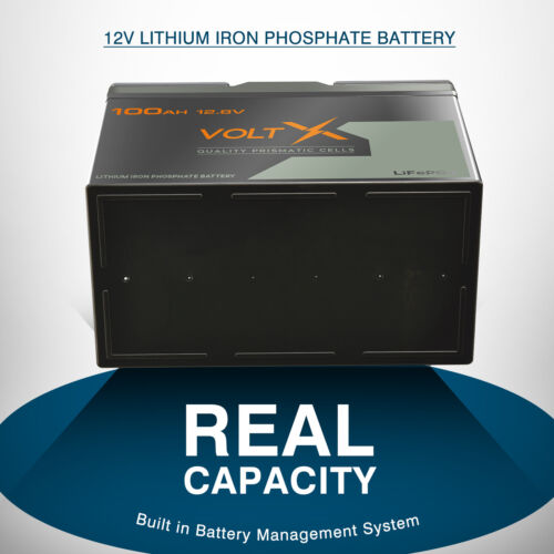 12V 100Ah Lithium Ion Battery LiFePO4 Deep Cycle Rechargable Solar Replace AGM <br/> Extra 7% off,only AU $445!