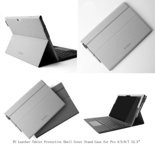 New Shockproof PU Leather Flip Stand Case Cover For Microsoft Surface Pro 7 6 5