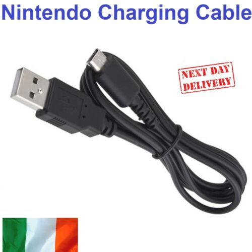 USB Charging Cable For Nintendo DS Lite 1.2m 4ft Charger Power Lead