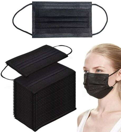 Black / Pink  / BLUE  Disposable Face Mouth Mask 3 Layer Protective Audit / Kid  <br/> 👍CE Certified👍 Sydney stock