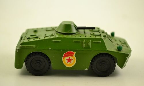 BRDM-2 METAL USSR SOVIET SCALE MODEL 1:43 MILITARY ARMY ARMOR TIN TOY VEHICLE