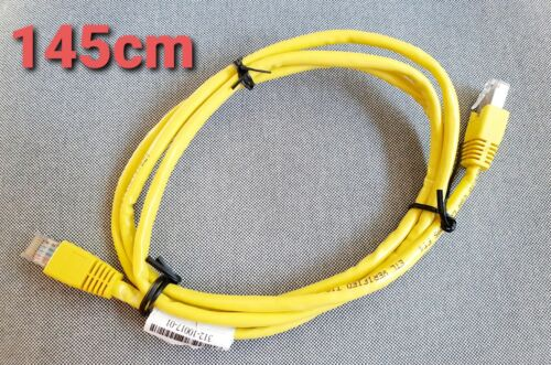 Evernew Cat 5 Molded Shielded Patch Cable STP RJ45 M/M 350 Mhz Yellow