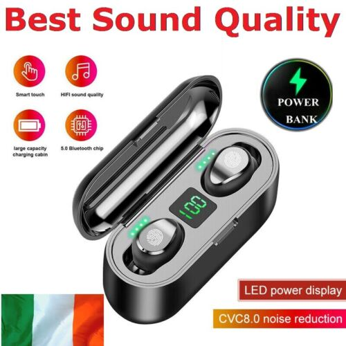 Wireless Bluetooth 5.0 Headphones TWS Earphones Stereo Earbuds In-Ear Headset <br/> ✅High Sound Quality ✅Bluetooth 5.0 ✅Fast Free Shipping