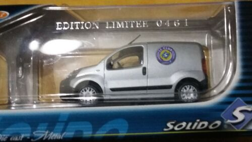 VOITURE PEUGEOT BIPPER 2008  EDITION LIMITEE DU CLUB SOLIDO 1/43
