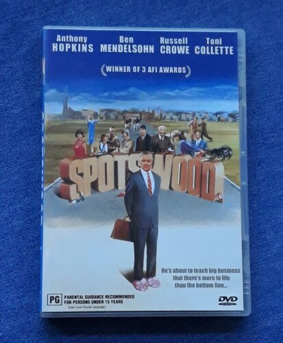 SPOTSWOOD (1991) DVD RARE 2003 AUS (Region 4) Special Features LIKE NEW