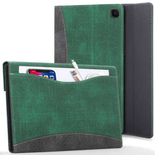 Samsung Galaxy Tab S6 Lite Case, Smart Cover - Green + Stylus & Screen Protector